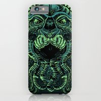 iPhone & iPod Case featuring The Cultist by Jorge Garza