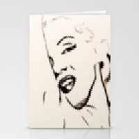 Marilyn Monroe 2 Stationery Cards