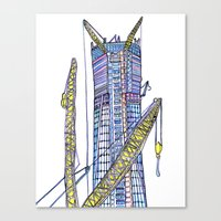 Love NYC's everything No. 6 Canvas Print
