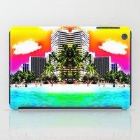 Waikiki Beach Part II iPad Case