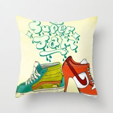 super jam Throw Pillow