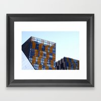 Dem Lines Doe Framed Art Print