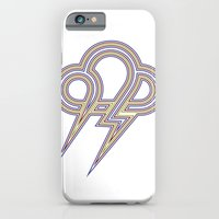iPhone & iPod Case featuring Rainbow Lightning by Heiko Hoos