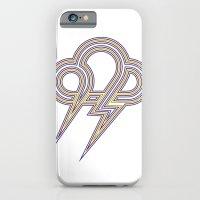 Rainbow Lightning iPhone 6 Slim Case