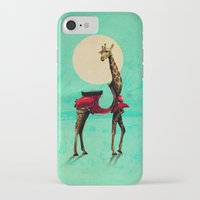 giraffe iPhone & iPod Cases featuring Giraffe by Ali GULEC