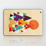 Laptop & iPad Skin featuring Let's Visit The Mountain… by Budi Kwan