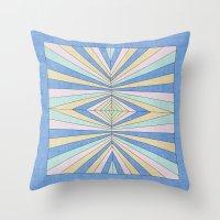Sunrays 3 Throw Pillow