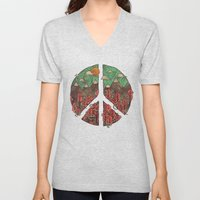 Peaceful Landscape Unisex V-Neck