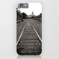 iPhone & iPod Case featuring Railroad Tracks by Around the Island (Robin Epstein)
