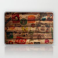 Wooden wall of Brands Laptop & iPad Skin