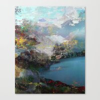 Untitled 20120315e (Landscape) Canvas Print