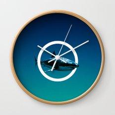 Shark. Wall Clock