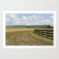 ithaca is fences Art Print
