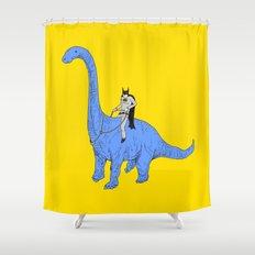 Dinosaur B Shower Curtain