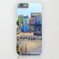 Tenby Harbour.Colour.Reflection. iPhone 6 Slim Case