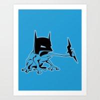 The Bat Art Print