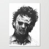 Leatherface Canvas Print