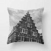 Amsterdam I Throw Pillow