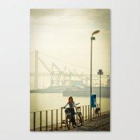 hierro Canvas Print