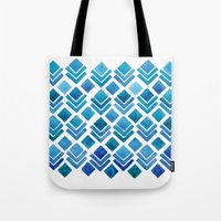 Tote Bag featuring Ice House by Wild Notions
