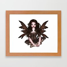 Earth Fairy Framed Art Print