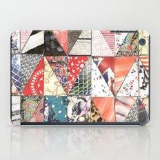 patchwork iPad Case