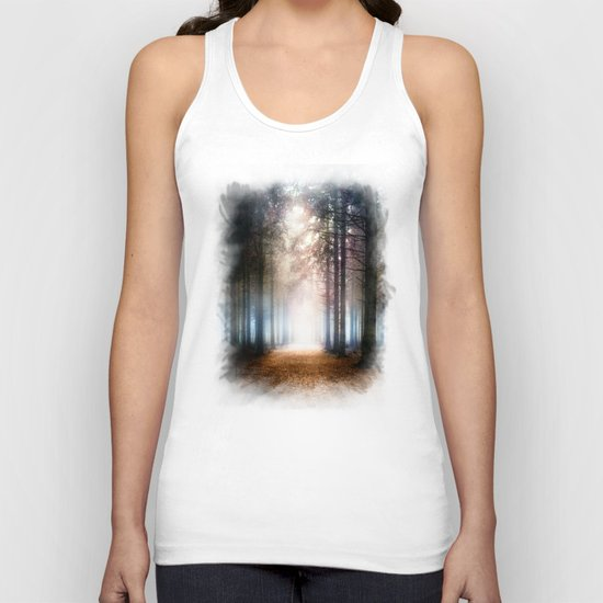 Enchanted Forest Unisex Tank Top