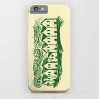 iPhone Cases featuring Sad Row by Eric Fan