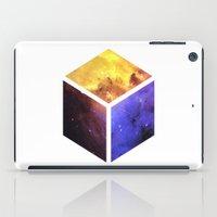 Nebula Cube - White iPad Case