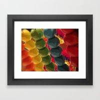 Abacus Of Brightness. Lv… Framed Art Print