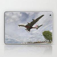 Emirates Airbus A380 Heathrow Airport Laptop & iPad Skin