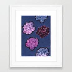 COLDROSES Framed Art Print