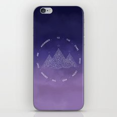 To The Stars Who Listen And The Dreams That Are Answered iPhone & iPod Skin