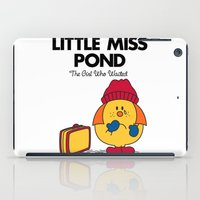Little Miss Pond iPad Case
