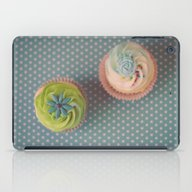 iPad Case featuring Polka Dots And Cupcakes by Jessica Torres Photo…