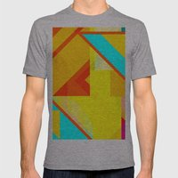 bipolar yellow Mens Fitted Tee Athletic Grey SMALL