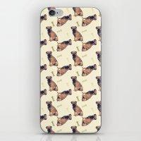 Border Terrier Dog Oil P… iPhone & iPod Skin