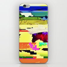 Paint On The Monitor #2 iPhone & iPod Skin