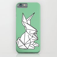 iPhone & iPod Case featuring Bunny or 兔子 (Tùzǐ), 2014. by Tiffany Horan