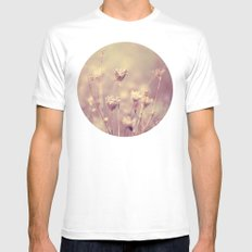 Winter Queen Anne's Lace  Mens Fitted Tee White SMALL