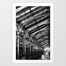 Steeples of Steel Art Print