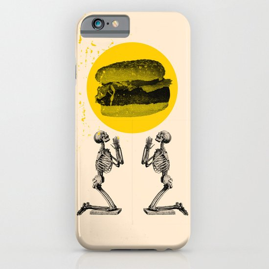 Hamburger Pray iPhone & iPod Case