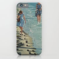 iPhone & iPod Case featuring Walk on the Beach by Sarah Eisenlohr