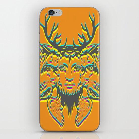 GOD II iPhone & iPod Skin