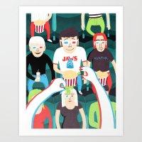 3D Movies Art Print