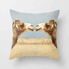 Love and Affection Throw Pillow