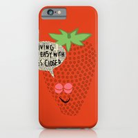 Strawberry Fields iPhone 6 Slim Case
