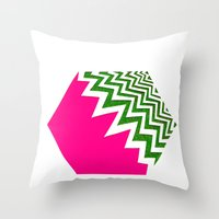 Watermelon Bizcut Throw Pillow