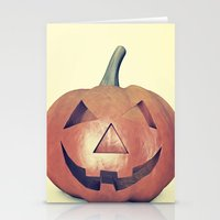 Smile Head  Stationery Cards