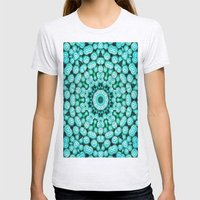Cactus Star Womens Fitted Tee Ash Grey SMALL
